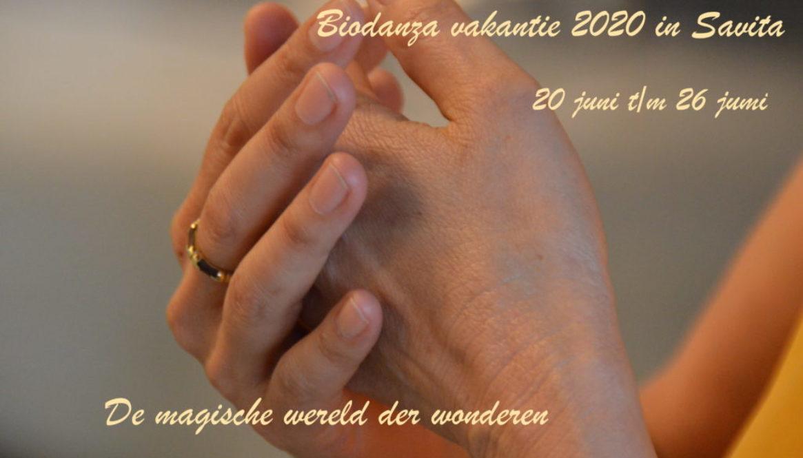 Biodanza vakantieweek zomer 2020